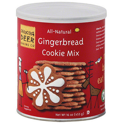 Dancing Deer Baking Co. Gingerbread Cookie Mix, 16 oz, (Pack of 6)
