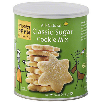 Dancing Deer Baking Co. All Natural Classic Sugar Cookie Mix, 16 oz, (Pack of 6)