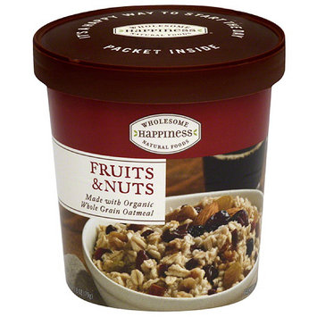 Dr. Mcdougall's Wholesome Happiness Fruits & Nuts Oatmeal, 2.8 oz, (Pack of 6)