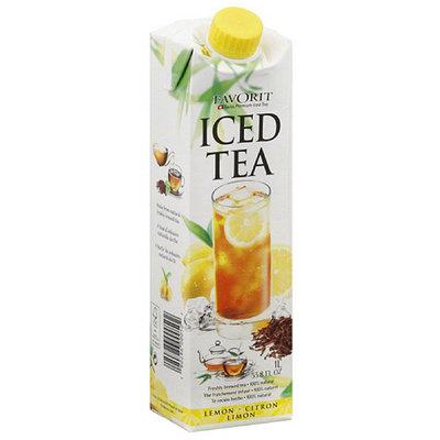 Favorit Lemon Iced Tea, 33.8 fl oz, (Pack of 6)
