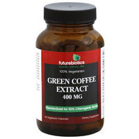 Futurebiotics Green Coffee Extract Vegetarian Capsules, 400mg, 90 count