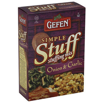 Gefen Simple Stuff Onion & Garlic Stuffing Mix, 6 oz, (Pack of 6)