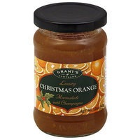 Grants Grant's of Scotland Luxury Christmas Orange Marmalade with Champagne, 12 oz, (Pack of 6)
