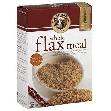 King Arthur Flour Whole Flax Meal, 16 oz, (Pack of 6)