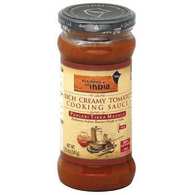 Kitchens of India Punjabi Tikka Masala Sauce, 12.2 oz, (Pack of 6)
