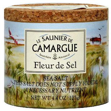 Le Saunier de Camargue Fleur de Sel Sea Salt, 4.4 oz, (Pack of 6)