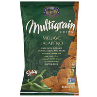 Lundberg Family Farms Mojave Jalapeno Multigrain Chips, 6 oz, (Pack of 12)