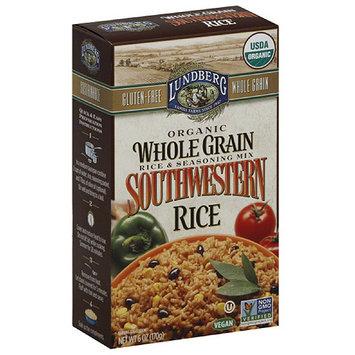 Lundberg Southwestern Rice & Seasoning Mix, 6 oz, (Pack of 6)