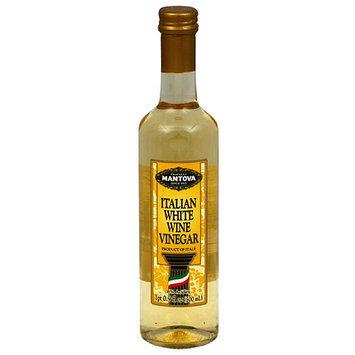 Mantova Italian White Wine Vinegar, 16.9 fl oz, (Pack of 6)