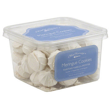 Miss Meringue Tahitian Vanilla Petites Meringue Cookies, 4 oz, (Pack of 12)