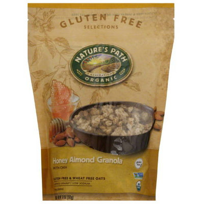 Nature's Path Organic Gluten Free Selections Honey Almond Granola, 11 oz, (Pack of 8)