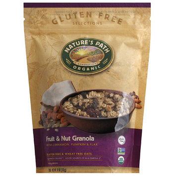 Nature's Path Organic Fruit & Nut Granola with Cinnamon, Pumpkin & Flax, 11 oz, (Pack of 8)