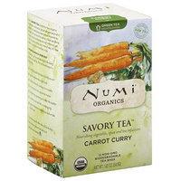Numi Teas Numi Organics Savory Tea Carrot Curry Decaffeinated Green Tea Bags, 1.92 oz, (Pack of 6)