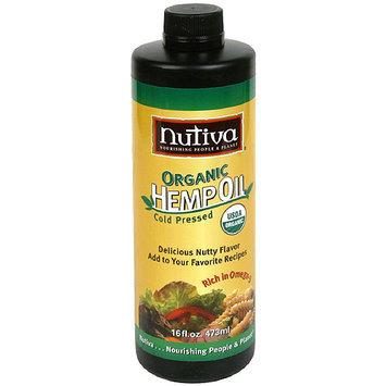 Nutiva Organic Cold Pressed Hemp Oil, 16 fl oz