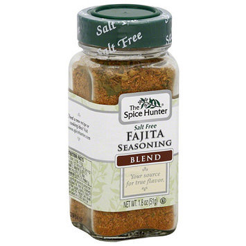 The Spice Hunter Salt Free Fajita Seasoning Blend, 1.8 oz, (Pack of 6)