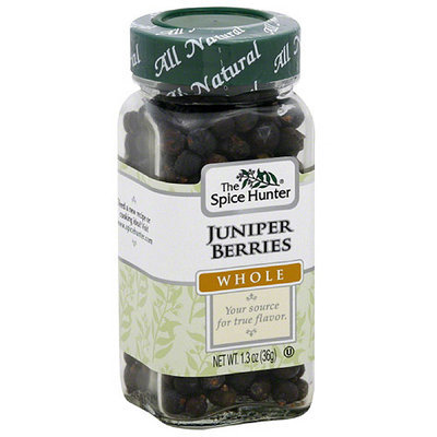 The Spice Hunter Whole Juniper Berries, 1.3 oz, (Pack of 6)