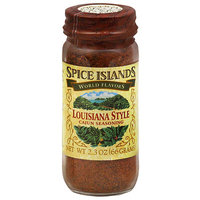 Spice Islands World Flavors Louisiana Style Cajun Seasoning, 2.3 oz, (Pack of 3)