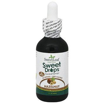 Sweetleaf Stevia SweetLeaf Sweet Drops Hazelnut Sweetener, 2 fl oz