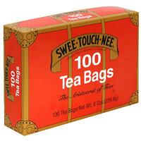 Sweetouchnee Swee-Touch-Nee Orange Pekoe and Pekoe Cut Black Tea Bags, 100 count, 8 oz, (Pack of 10)