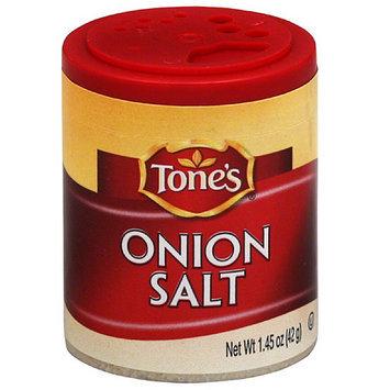 Tone's Onion Salt, 1.45 oz, (Pack of 6)