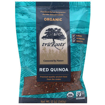 TruRoots Organic Red Quinoa, 12 oz, (Pack of 6)