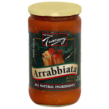 Phil Stefani Tuscany Arrabbiata Hot & Spicy Pasta Sauce, 24 oz, (Pack of 6)