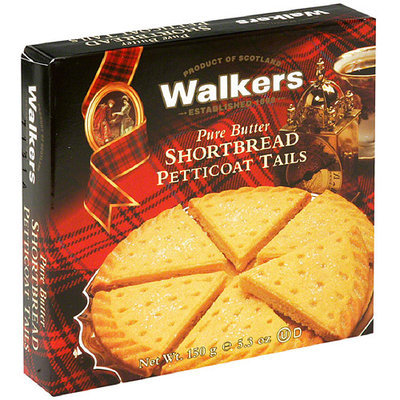 Walker's Walkers Pure Butter Shortbread Petticoat Tails, 5.3 oz, (Pack of 6)