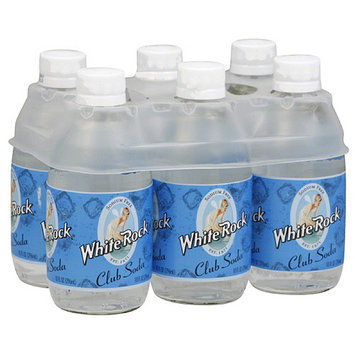 White Rock Club Soda, 60 fl oz, (Pack of 4)