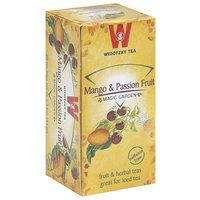Wissotzky Wissotzkt Tea Mango & Passion Fruit Tea Bags, 20 count, 1.55 oz (Pack of 6)