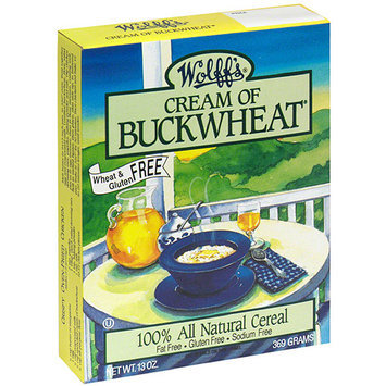 Wolff's Cream of Buckwheat Hot Cereal, 13 oz, (Pack of 6)