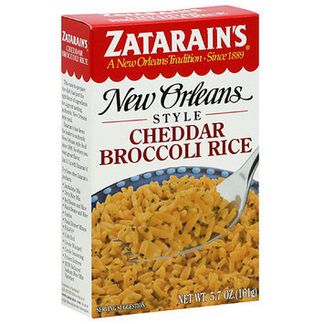 Zatarain's New Orleans Style Cheddar Broccoli Rice, 5.7 oz, (Pack of 12)