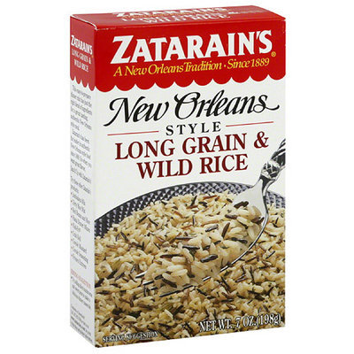 Zatarain's New Orleans Style Long Grain & Wild Rice Mix, 7 oz, (Pack of 12)