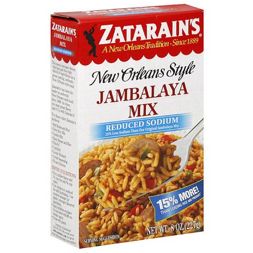 Zatarain's New Orleans Style Jambalaya Mix, 8 oz, (Pack of 12)