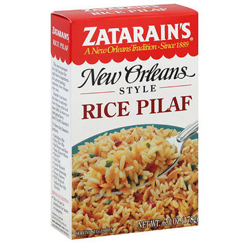 Zatarain's New Orleans Style Rice Pilaf, 6.3 oz, (Pack of 12)