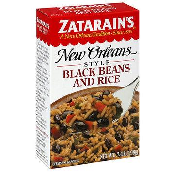 Zatarain's Original Black Beans and Rice Mix, 7 oz, (Pack of 12)