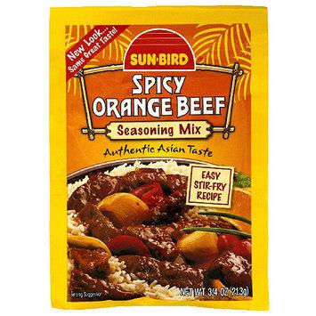 Sunbird Sun-Bird Spicy Orange Beef Seasoning Mix, 0.75 oz, (Pack of 24)