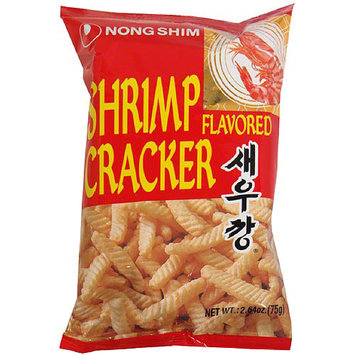 Nong Shim Shrimp Flavored Crackers, 2.64 oz, (Pack of 30)