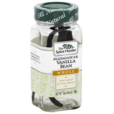 The Spice Hunter Whole Madagascar Vanilla Bean, 2 count, (Pack of 48)