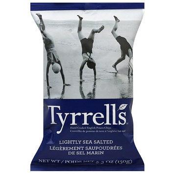 Twang Tyrrell's Lightly Sea Salted English Potato Chips, 5.3 oz, (Pack of 12)