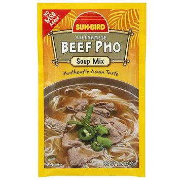 Sunbird Sun-Bird Vietnamese Beef Pho Soup Mix, 1.05 oz, (Pack of 24)