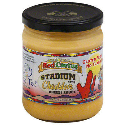 Red Cactus Stadium Style Cheddar Cheese Sauce, 15 oz, (Pack of 6)