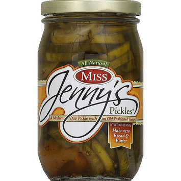 Miss Jenny's Pickles Miss Jenny's Habanero Bread & Butter Pickles, 16 fl oz, (Pack of 6)