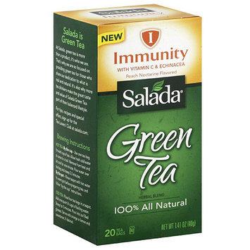 Salada Immunity Green Tea Herbal Blend Tea Bags, 20 count, 1.41 oz, (Pack of 6)