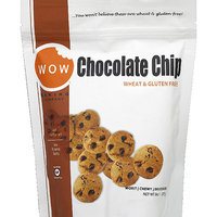 WOW Baking Company Chocolate Chip Wheat & Gluten Free Cookies, 8 oz (Pack of 12)