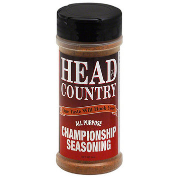 Head Country All Purpose Championship Seasoning, 6 oz, (Pack of 12)