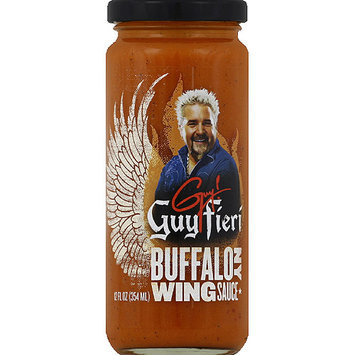 Guy Fieri Buffalo NY Wing Sauce, 12 fl oz, (Pack of 6)