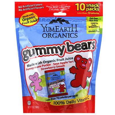Yummyearth YumEarth Organics Gummy Bears, 7 oz, (Pack of 12)