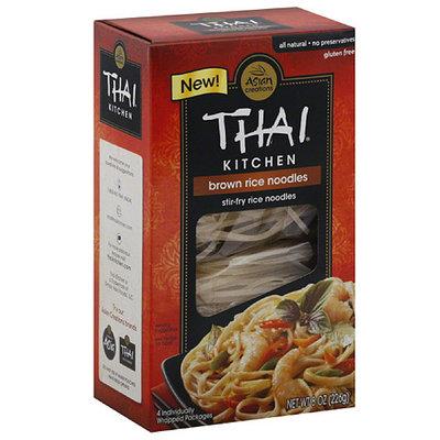 Thai Kitchen Brown Rice Stir-Fry Noodles, 8 oz, (Pack of 6)