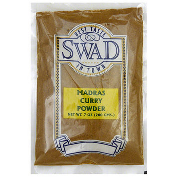 Swad Madras Curry Powder, 7 oz, (Pack of 10)