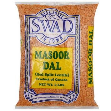 Swaddle Keeper Swad Masoor Dal Red Split Lentils, 32 oz, (Pack of 6)